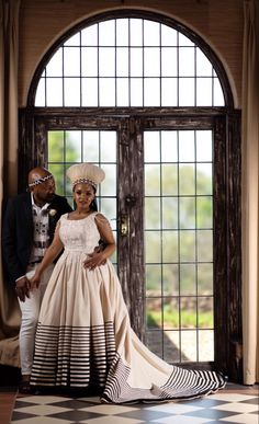 Zulu Traditional Attire, South African Traditional Dresses, Traditional Wedding Dresses, Traditional Outfits, South African Wedding Dress, African Wedding Theme, South African Weddings, African Dresses For Women, African Fashion Dresses