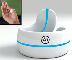 With Fin Smart Ring on your thumb turn your palm into interactive hot keys and control all your gadgets like never before!