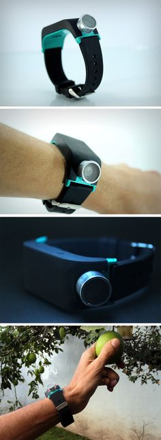 The title couldn't be more well-suited to describe the Sunu's noble cause. Designed for the 250 million around the world people who are visually impaired, Sunu is a wrist-worn echolocation device, borrowing from a bat's abilities to use sound waves to generate a map of obstacles in front of it. BUY NOW!