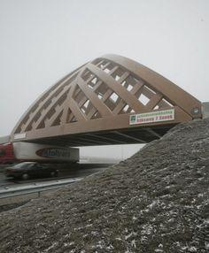 Sneek Bridge / Achterbosch Architectuur with Onix. Voor mijn man...hij nam deel als jurylid in de commissie.