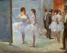 Jean-Louis Forain - Le foyer de l'Opéra