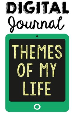 Themes of My Life - Digital Edition. Includes over 240 prompts based on 50+ topics of your students' individual life values! Autobiography Journal for Language Arts, English, Creative Writing, Philosophy, Critical Thinking, Growth Mindset, Psychology, Social Studies, Sociology, Social Sciences, English, Language Arts.