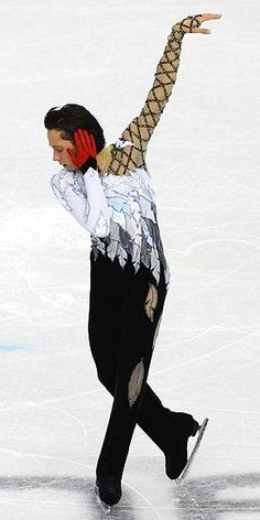Johnny Weir 'The Swan'