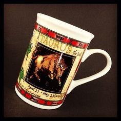 TAURUS The Bull Zodiac Sign MUG Horoscope April 21 May 21 Coffee Tea