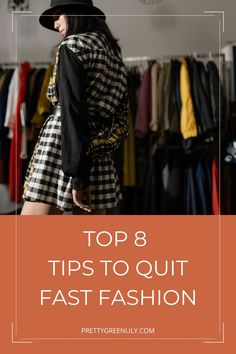 How can I quit fast fashion? If you have ever asked yourself this question, this post is for you. Fast fashion is terrible for the planet, for garment workers and, believe it or not, for consumers. Quitting fast fashion and moving towards slow fashion will allow you to find your very own style and start building your sustainable wardrobe full of gorg eco-friendly and ethical pieces #sustainableliving #sustainablefashion | via @prettygreenlily Ethical Clothing, Ethical Fashion, Fashion Brands, Fashion Blogs, Fashion 101, Fast Fashion, Slow Fashion, Fashion Outfits, Perfect Capsule