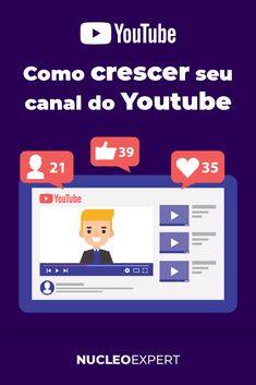 Canal No Youtube, Crescendo, Brainstorm, Marketing Digital, Youtubers, Facebook, Videos, Make Money On Internet, Online Deals