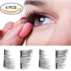 Magnetic False Eyelashes - 1 Pairs (4 Pieces) Ultra Thin ... https://www.amazon.co.uk/dp/B075QFF2R6/ref=cm_sw_r_pi_dp_x_TbabAbZ87RSBX