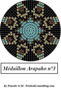 Peyote Mandala Medallion Pattern Arapaho_3