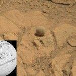 Unusual Rocks near Pahrump Hills on Mars