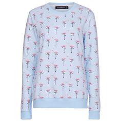 Catootje Flamingo sweater - Sugarhill Boutique -