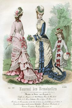 from the August 1876 edition of Journal des Demoiselles.