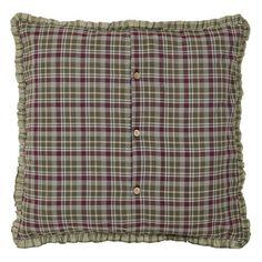 VHC Brands Jackson Fabric Euro Sham