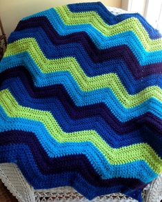 new chevron zig zag ripple baby blanket by JDCrochetCreations  $80.00  https://www.etsy.com/listing/164625151/new-chevron-zig-zag-ripple-baby-blanket?ref=shop_home_active_1