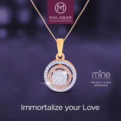 Yet another way to make her smile, this beautiful pair of Mine diamond classic, fashion pendant is hand-crafted to the highest standards of perfection to win over many hearts.