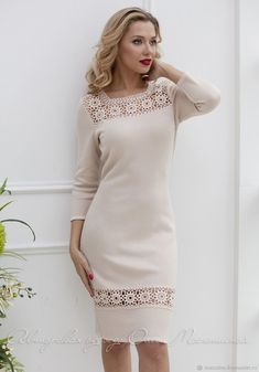Tremendous Sewing Make Your Own Clothes Ideas. Prodigious Sewing Make Your Own Clothes Ideas. Sewing Clothes, Crochet Clothes, Modest Dresses, Pretty Dresses, Embroidery On Clothes, Easy Knitting Patterns, Knitted Coat, Crochet Woman, Couture