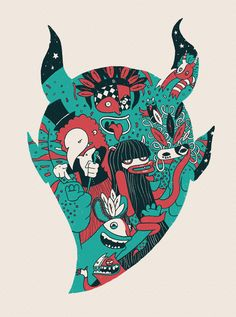 Monster Masquerade on Behance