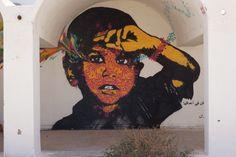 Street Art in Erriadh - Tunisia - Maxime Massa
