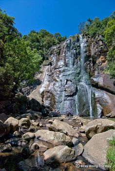 In a region known for its beautiful hiking trails, the Madonna and Child Falls hike through the forests of Hogsback is one of the best! Madonna And Child, Hiking Trails, Forests, South Africa, Adventure, Mountains, Children, Fall, Water
