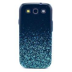 Wachsende Star-Fragment-Muster stark Fall-Abdeckung für Samsung Galaxy S3 I9300 - EUR € 3.83