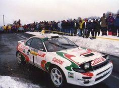 Toyota Celica Turbo 4WD (Gr.A/Cl.8) Juha Kankkunen-Nicky Grist (2º clasificado) Rallye Automobile de Monte-Carlo (1994)