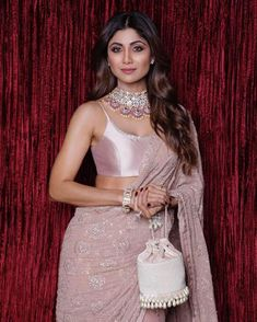Who Wore What At The Big Fat Ambani Wedding is part of Edgy fashion Simple Shirts - Want to see what every single Bollywood celebrity wore to the big fat Ambani Wedding Here's the best quality pictures of celebrity lehengas and Indian Celebrities, Bollywood Celebrities, Bollywood Fashion, Bollywood Actress, Bollywood Jewelry, Bollywood Saree, Indian Bollywood, Shilpa Shetty Saree, Anamika Khanna