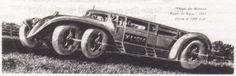 futuristic car from 1918