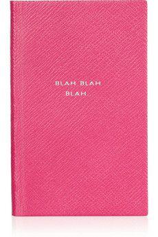 blah blah blah notebook