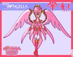 my concept for angella where her wings would lite up and the jewel in her halo would also. they would both attach to her lower back. my Angella concept She Ra Princess Of Power, Old Shows, Old Things, Concept, Deviantart, Pop, Halo, Jewel, Popular