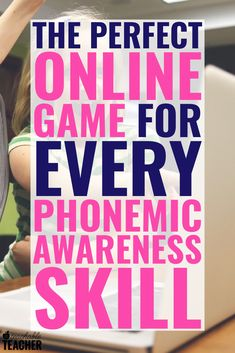 Pre-readers and new readers will get lots of practice and repetition with these engaging and free phonemic awareness games. There is one for every skill!