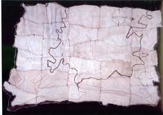 Wurundjeri cloak, showing a cultural map of Melbourne, created by Mandy Nicholson, 2006 Aboriginal History, Aboriginal Art, Cloaks, Teaching Activities, Indigenous Art, Melbourne, Usb, Victorian, Culture