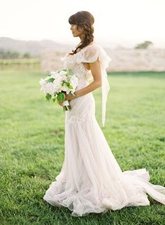 I dreamt about it so many times ... this is my dream wedding dress ! <3