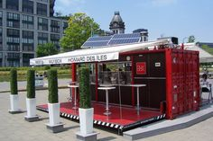 MuvBox shipping container cafe'