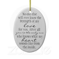 Mother Quote Christmas Tree Ornament! I WILL HAVE THIS!!!LOVE this so much, it's so true!!!
