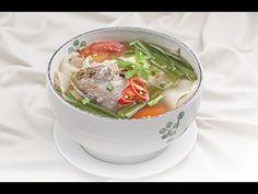 Giải nhiệt ngày Hè với canh cá rau muống