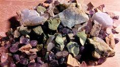 Edelsteine / 5 Elemente Mischung 100g. Edelsteinwasser /  Gems / gemas