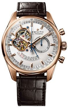 7ed24e50e1b8 Zenith Chronomaster Open Reserve Mens Wristwatch Model 18.2080.4021- Quite  possibly in love with