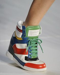 these are like my favourite shoes EVER! no kidding :) wedged trainers are such an awesome idea!