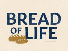 Bread of Life art for print and screen Church Graphic Design, Art Folder, Pentecost, One Design, Bread, Life, Brot, Baking, Breads