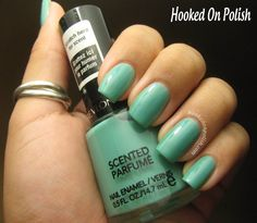 Hooked On Polish: Revlon Mint Gelato Review - Just bought this Revlon color today love it!