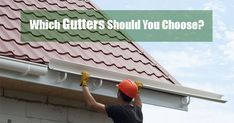K-style Gutters: Which Is Best for You? You Choose, Porch, Style, Balcony, Swag, Four Seasons Room