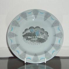 Eric Ravilious Travel Side Plate Wedgwood
