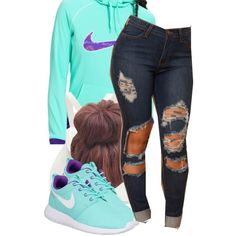 2/14/15 by alfephusgulley on Polyvore featuring NIKE and Forever New