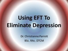 How To Use EFT (Emotional Freedom Technique) For Depression   Calgary Acupuncture - http://eftcentral.net/how-to-use-eft-emotional-freedom-technique-for-depression-calgary-acupuncture/