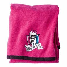 Monster High Bath Towel Add To The Bathroom Decor With A Bright Pink Bath  Towel In