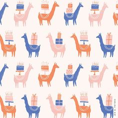 41/100: this one goes out to my sister @epeterz ✨ happy birthday little llama, I love you so much!! #jbp100patterns - p.s. which colorway do you guys like best? I couldn't decide.