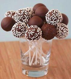 Popcakes de chocolate y café.  http://www.philipssenseo.com.ar/ https://www.facebook.com/PhilipsSenseoArgentina