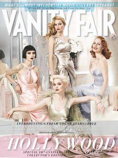 Vanity Fair celebrates Old Hollywood Glamour