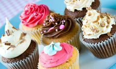 Groupon - $ 14.89 for 12 LargeVanilla, Chocolate, or Flavors of the Day Gourmet Cupcakes at Lovee's Cakes ($27.99 Value)  in Layton. Groupon deal price: $14.89