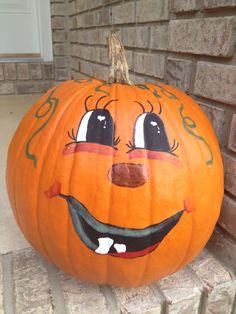 Happy pumpkin...
