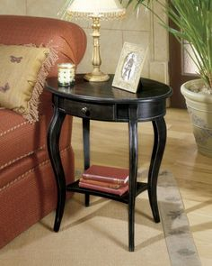 Accent Tables, Oval Accent Table, Dining Room Table Sets, Bedroom Furniture, Curio Cabinets and Solid Wood Furniture - Model 0532005 - Home Gallery Stores Furniture Solid Wood Furniture, Accent Furniture, Table Furniture, Living Room Furniture, Painted Furniture, Home Furniture, Selling Furniture, Contemporary Decor, End Tables